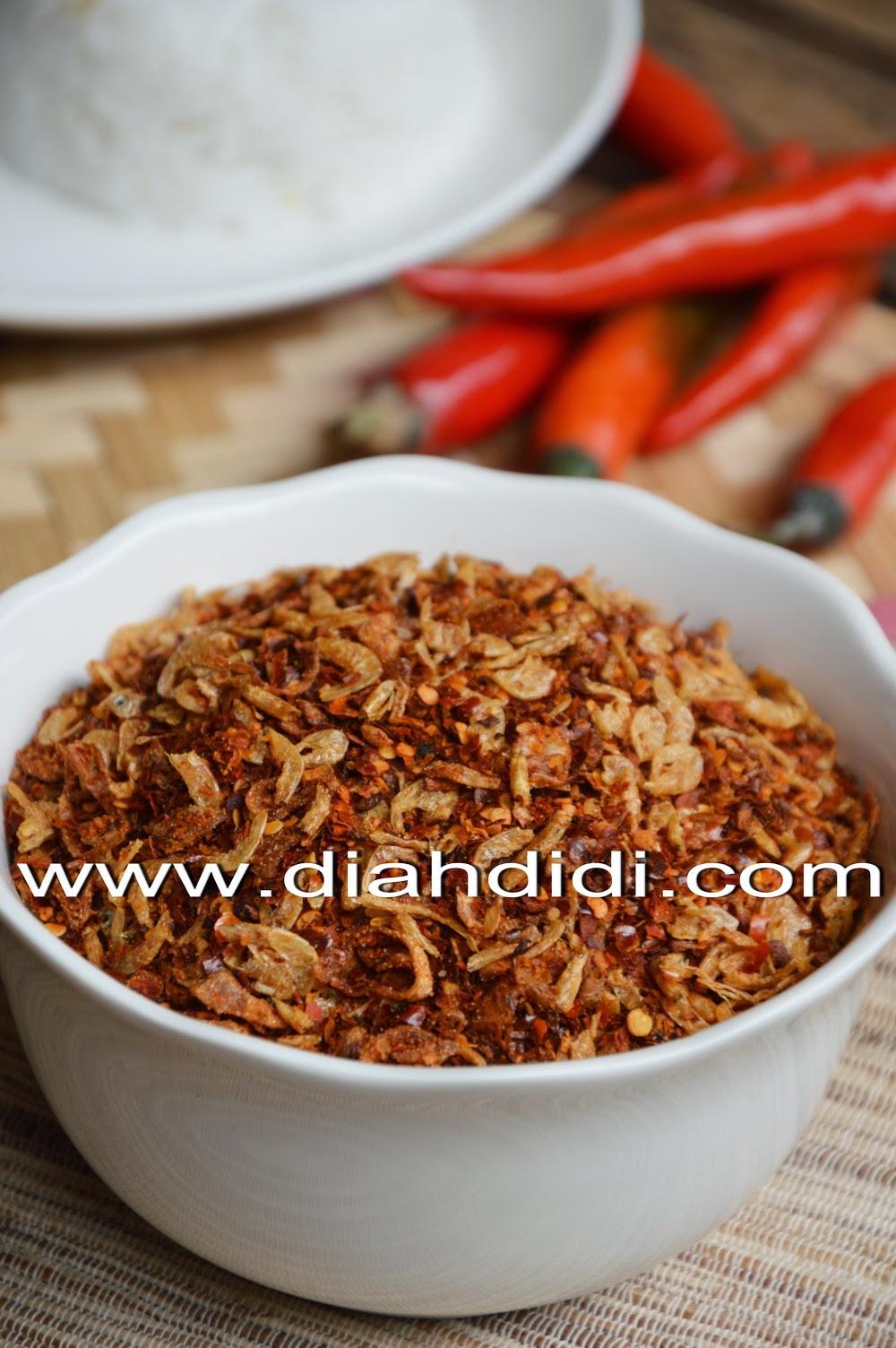 Diah Didi S Kitchen Resep Abon Cabe Udang Rebon