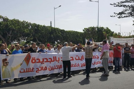 باعة متجولون يدفعون تجارا للاحتجاج بالجديدة