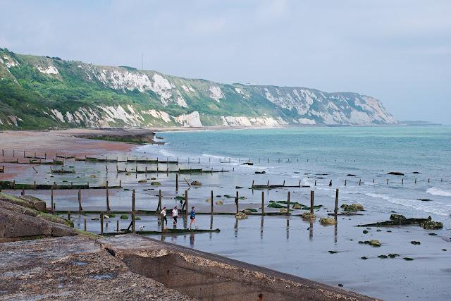 Folkesstone kent beach warren