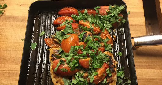 Roasted Tomato and Basil Chicken