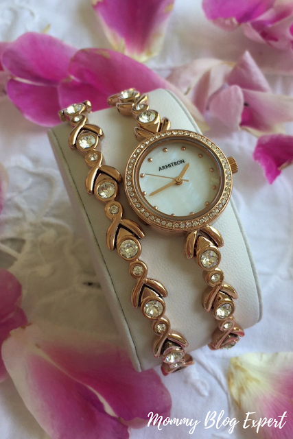 Armitron Rose Gold Bracelet Watch Set Review