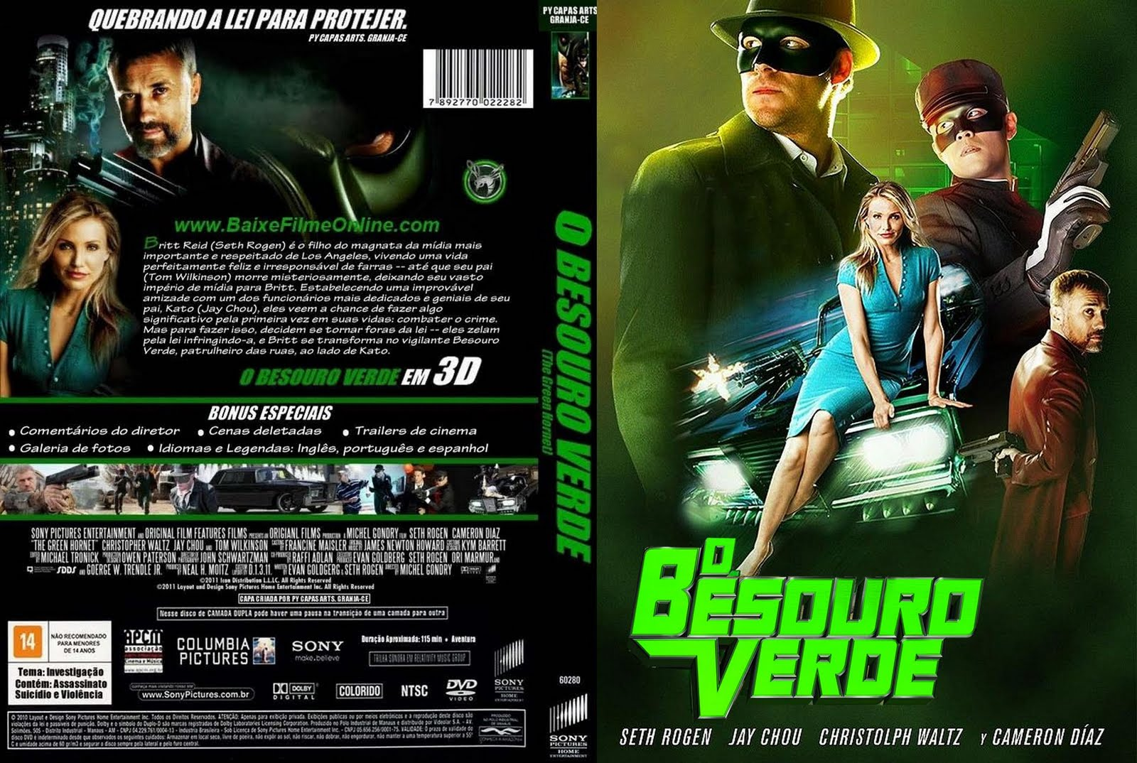 VERDE BAIXAR BESOURO FILME DVD-R