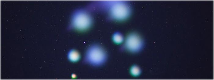 luzes brilhantes - NASA