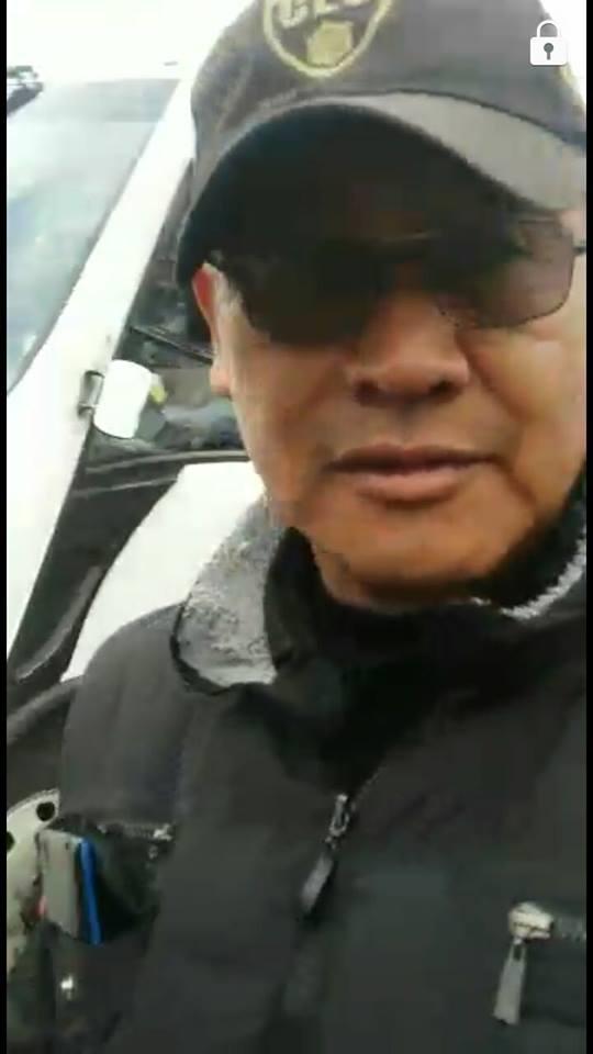El policía. FOTO: Facebook