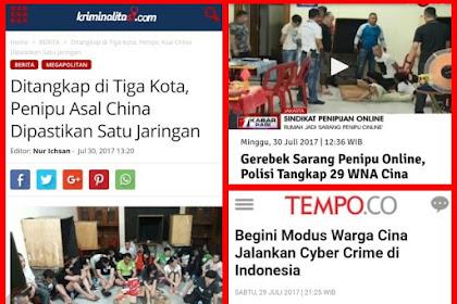 Jangan Dideportasi Dulu, BONGKAR TUNTAS PENIPU CYBER ASAL CHINA !!!