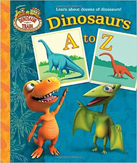 dinosaur abc book