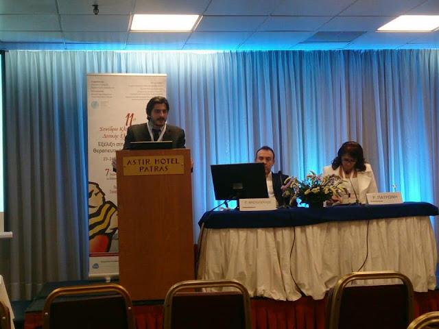 Ο Αλέξανδρος Μουσούρος στο 11ο Συνέδριο Κλινικής Ογκολογίας Δυτικής Ελλάδας.