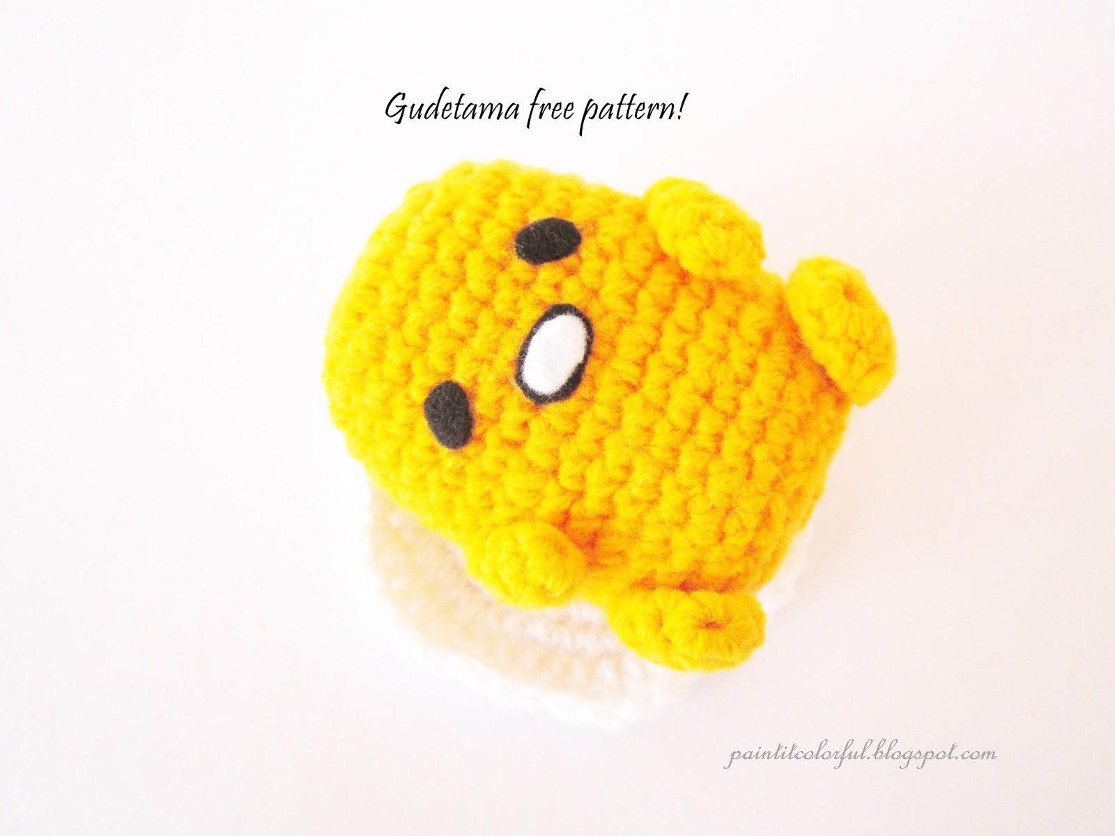 Amigurumi Kawaii Free : Amigurumi gudetama free pattern a little love everyday