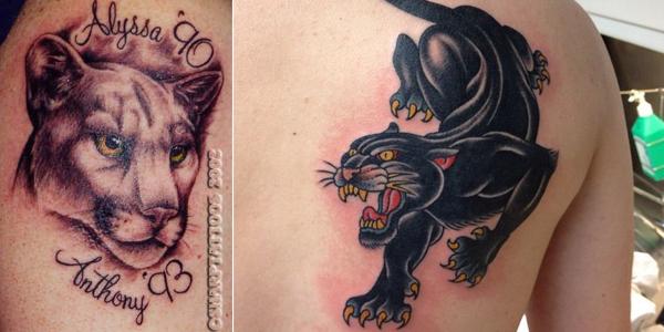 puma tattoo