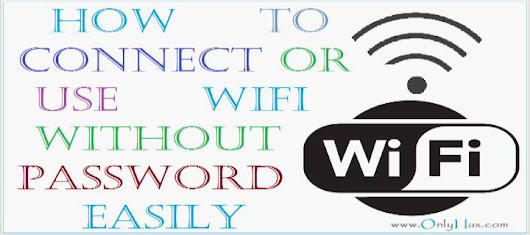 How To Connect WiFi Without Password