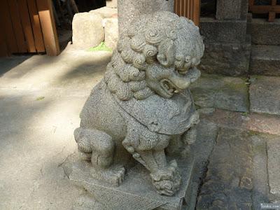 海老江八坂神社ゑびす神社狛犬