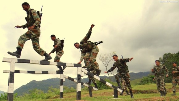 indian army training images