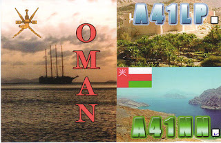 Oman ... Flavio IK1YDB trasmetterà come A41NN