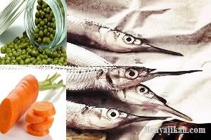 Tim Ikan Roa dan Kacang Hijau