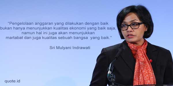 quotes menteri keuangan indonesia sri mulyani