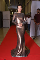 Actress Catherine Tresa in Golden Skin Tight Backless Gown at Gautam Nanda music launchi ~ Exclusive Celebrities Galleries 018.JPG