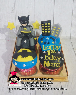 Cupcake Ulang Tahun Batman