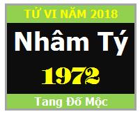 Tử Vi Tuổi Nhâm Tý 1972 Năm 2018