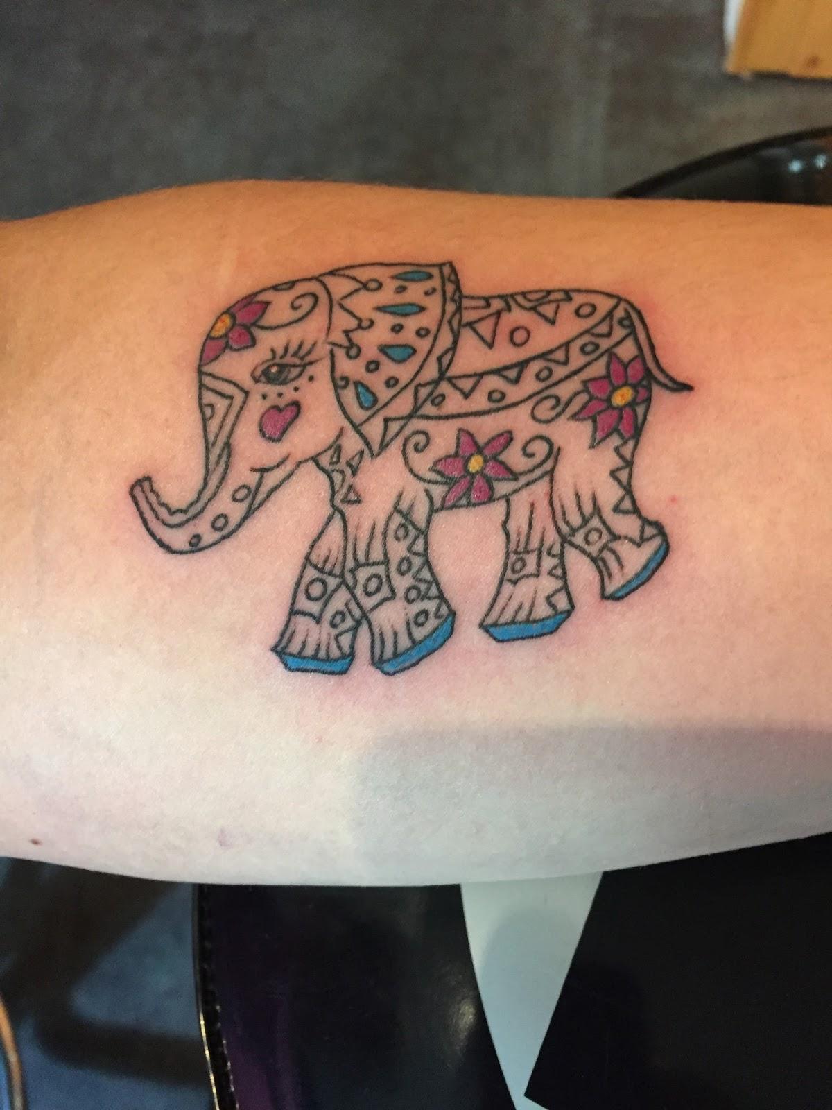 coming through skin tattoos gallery