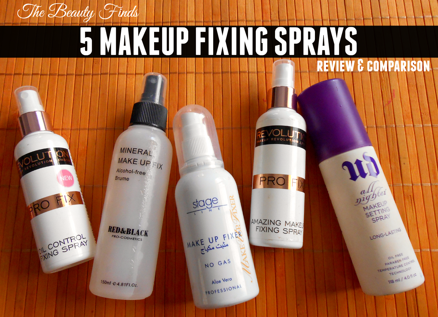 Fix Oil Control Makeup Fixing Spray by Revolution Beauty #12