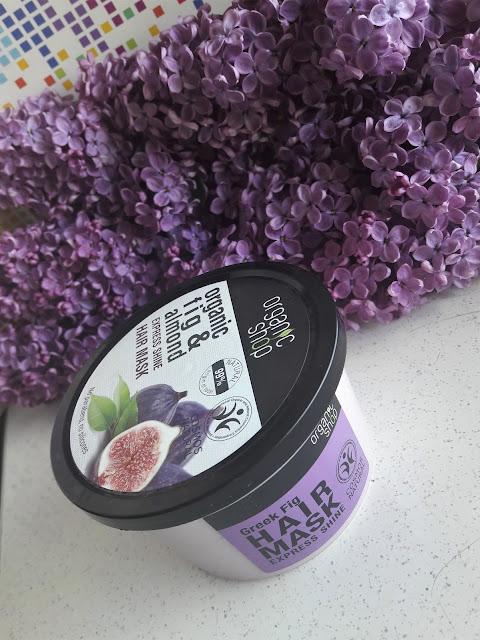 Organic shop - maska do włosów grecka figa i olej migdałowy