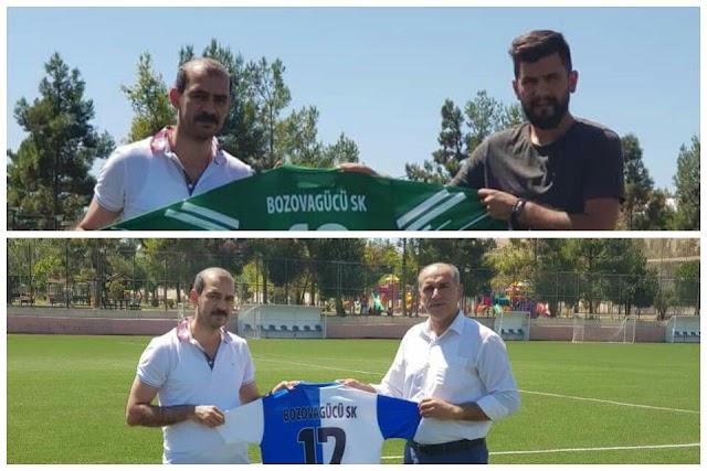 Bozovagücüspor'a sponsor desteği
