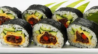 Sushi Roll Chicken Teriyaki Recipes