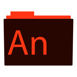 Preview of animate, software, application, folder icon