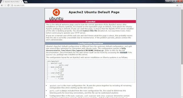 Cara Install LAMP di Ubuntu Server 18.04 LTS