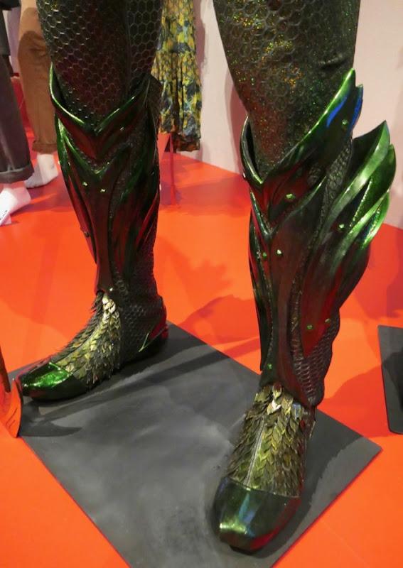 Aquaman movie costume boots