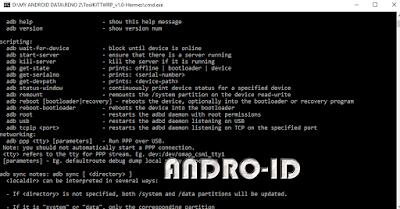 ADB Fastboot Tool Untuk Windows