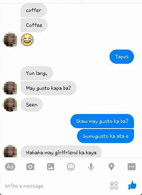 This girl got what she deserves after trying to flirt with a man who's already in a relationship!