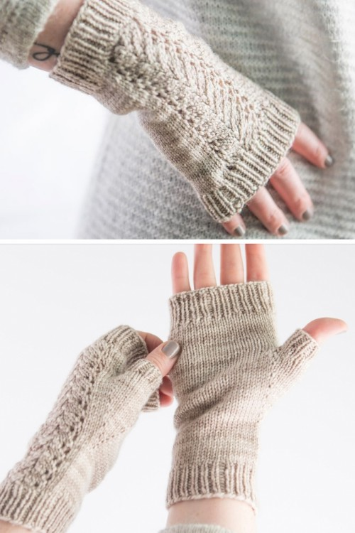 Wrist & Hand Warmer Knitting Patterns