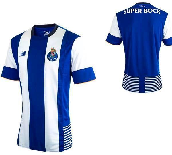Foi hoje divulgada a imagem da nova camisola oficial do F C Porto para a  próxima época desportiva. Informação esta transmitida dentro do período dos  santos ... 8ea92256db634