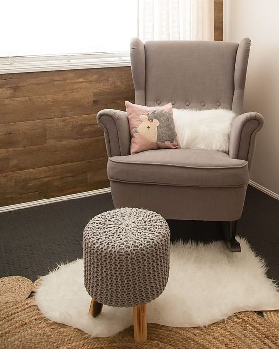 Strandmon Wing Chair Review Corner Desk With Jarrah Jungle Nursery Design The Perfect Nursing Now Because I M Doing On A Budget And Didn T Want To Spend Too Much New Which Would Most Likely Get Covered In Baby Vomit Very