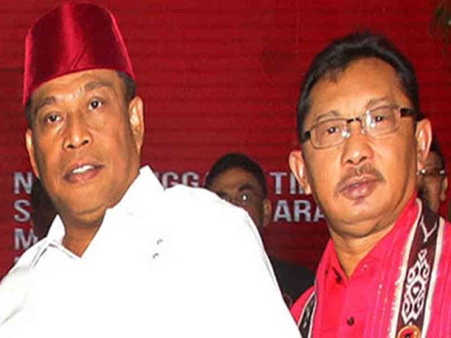 Murad Ismail dan Barnabas Orno Siap Dilantik Presiden Joko Widodo