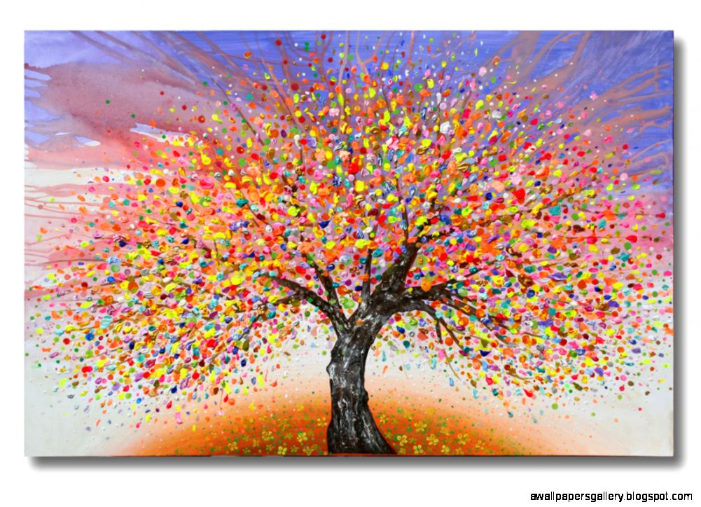 Abstract tree paintings wallpapers gallery for Online art gallery paintings