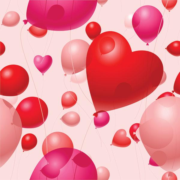desktop wallpaper valentine heart balloons - photo #4