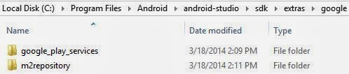 Install the Google Play Services SDK In Android Studio 4