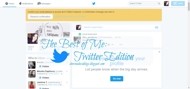 The best of me (twitter)