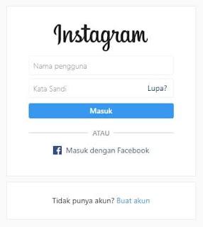 Cara Download Gambar di Instagram tanpa bantuan Aplikasi - Login Instagram