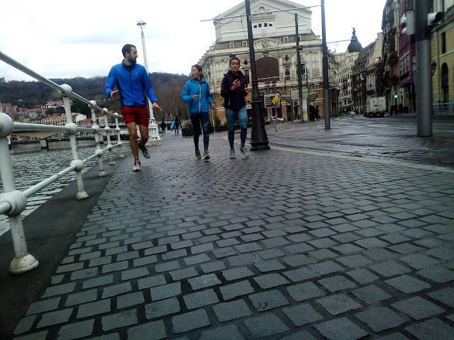 Running Bilbao