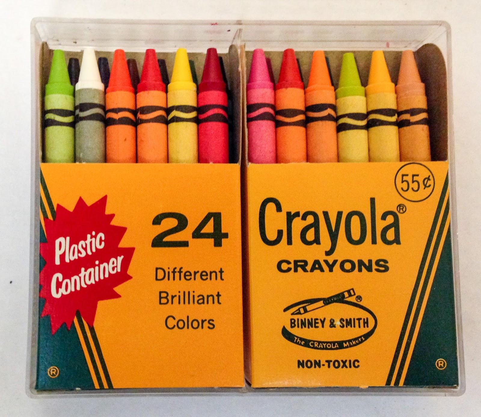 No 24 P Crayola Crayons