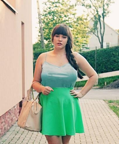 zielona stylizacja