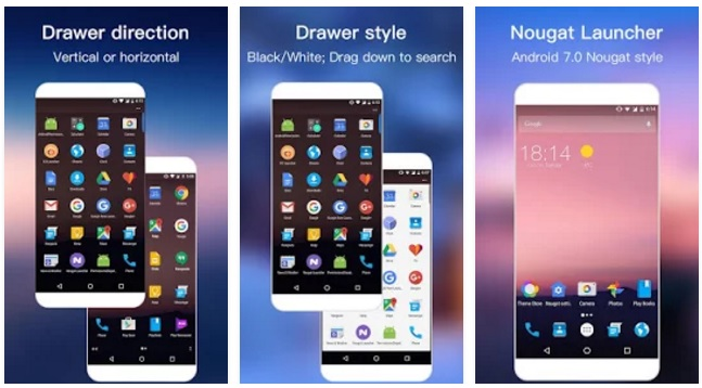 كيف تجعل اي هاتف اندرويد مثل اندرويد نوجا 7.0 من حيث الشكل والخصائص