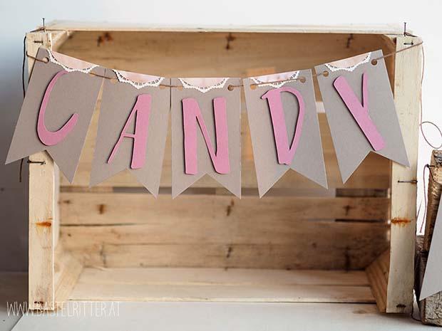 Candy Bar Hochzeit Vorarlberg Stampin' up! Bastelritter