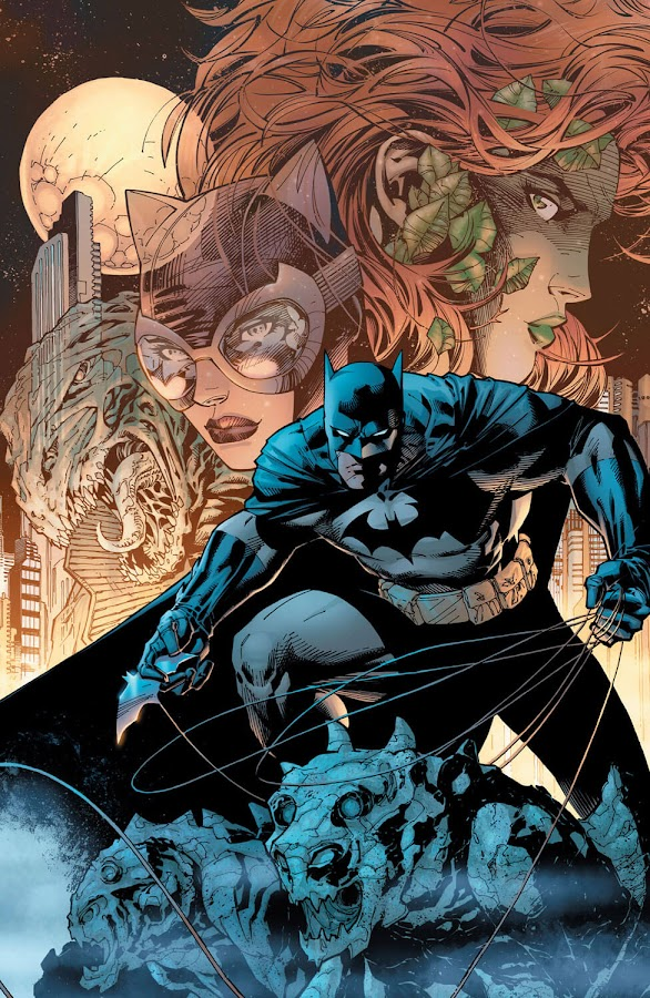 jim lee batman dc comics poison ivy hush