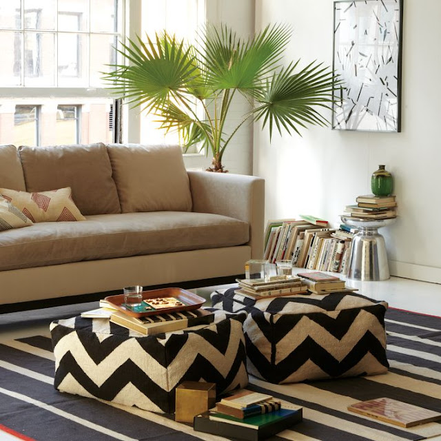 Diy Ottoman Coffee Table Living Rooms