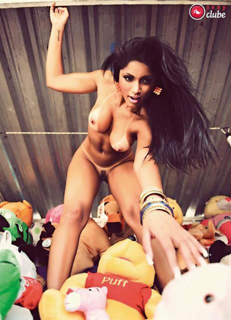 Bailarinas do Faustão peladas nuas na sexy 21