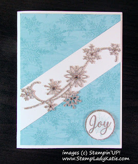 Made with Stampin'UP!'s Snow is Glistening Stamp Set and Snowfall Thinlits